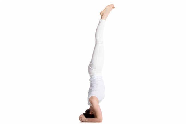6 Supported Headstand
